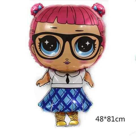 Воздушный шар кукла Лол Учительница