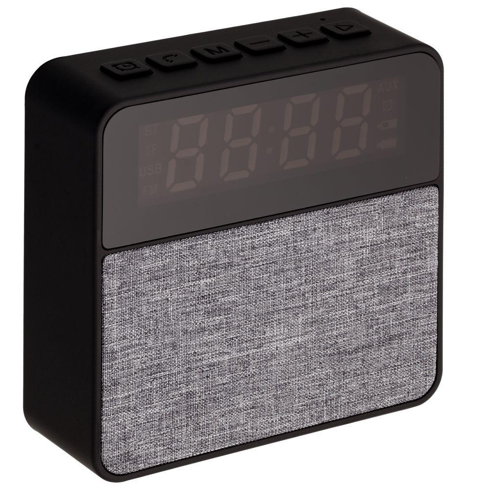 Real Jam Bluetooth Speaker with Clock, black