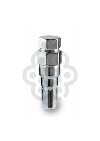 Ключ переходник 10-гранный длина=61мм ключ=19/21 мм хром