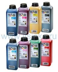 Комплект эко-сольвентных чернил STS Eco-Max2 8x1000 мл