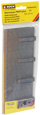 Каменная стена с опорами - 25,8x9,8 см, (TT)