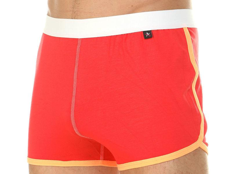 Мужские шорты домашние красные Van Baam 39843