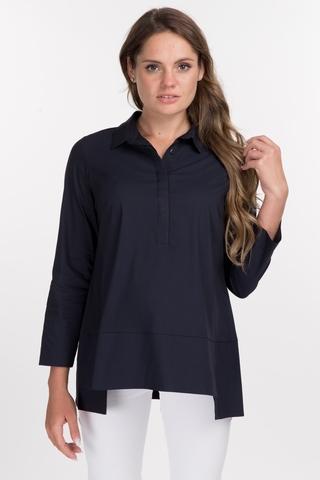 Рубашка для беременных 09060 синий