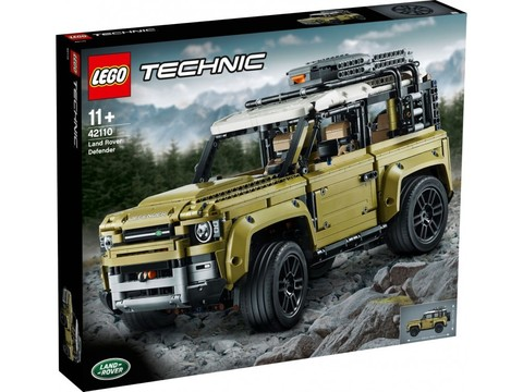 LEGO Technic: Land Rover Defender 42110 — Land Rover Defender — Лего Техник