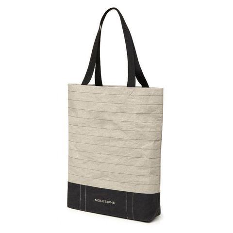 Сумка Moleskine Go Shopper Ruled серый/черный ET9GOSP01 37x40x7.5см