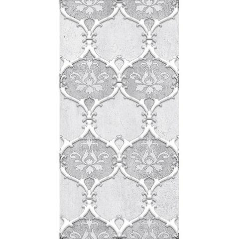 Декор Преза серый 04-01-1-08-03-06-1017-2 400х200х8