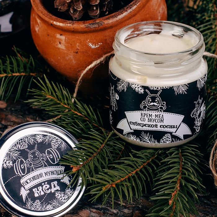 Купить крем-мед суфле в Перми НАСТОЯЩИЙ МУЖСКОЙ С КЕДРОВОЙ ЖИВИЦЕЙ