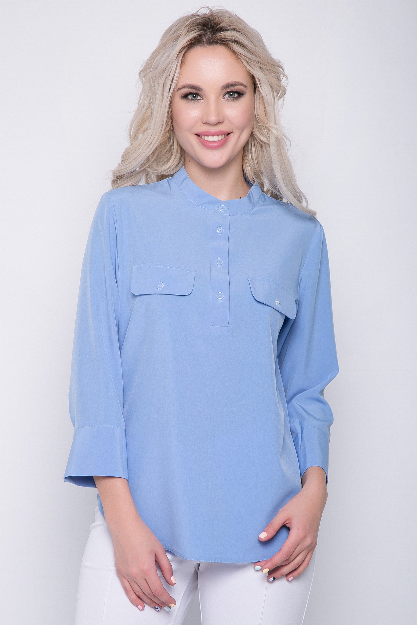"""Рубашка """"Флавия"""" (лаванда)"""