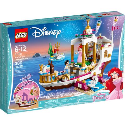 LEGO Disney Princess: Королевский корабль Ариэль 41153 — Ariel's Royal Celebration Boat — Лего Принцессы Диснея