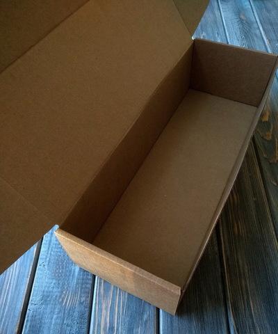 Коробка мгк С УШКАМИ длинная (335*115*85мм)