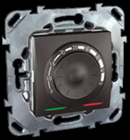 Терморегулятор теплого пола. Цвет Графит. Schneider electric Unica Top. MGU5.503.12ZD