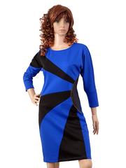 3306-1 Платье женское, синее