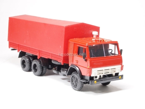 KAMAZ-53212 with awning red Elecon 1:43