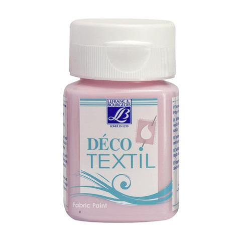 Краска по ткани Lefranc&Bourgeois DECO TEXTIL 50 мл 742, перламутровый розовый