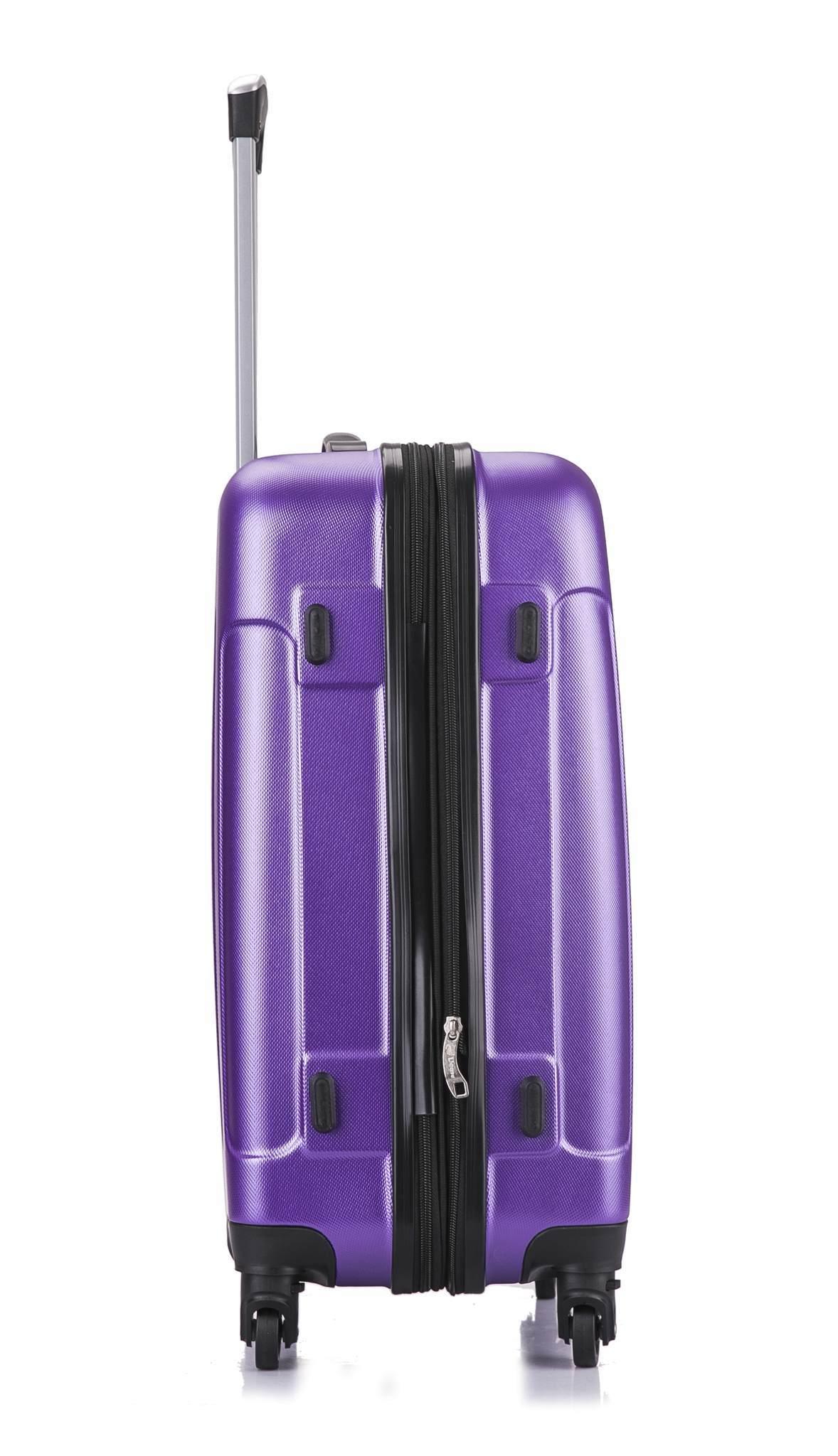 Чемодан с расширением L'case Bangkok-26 Фиолетовый (L)