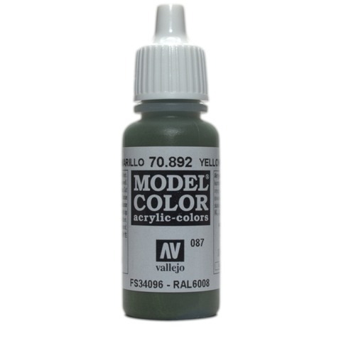 Model Color Yellow Olive 17 ml.
