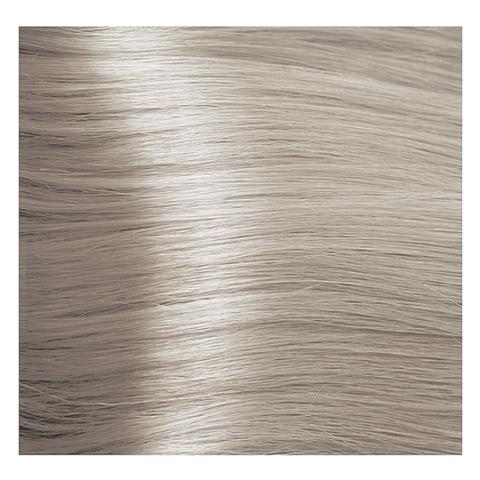 Крем краска для волос с гиалуроновой кислотой Kapous, 100 мл - HY 10.1 Платиновый блондин пепельный