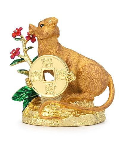 Золотой мангуст с монеткой