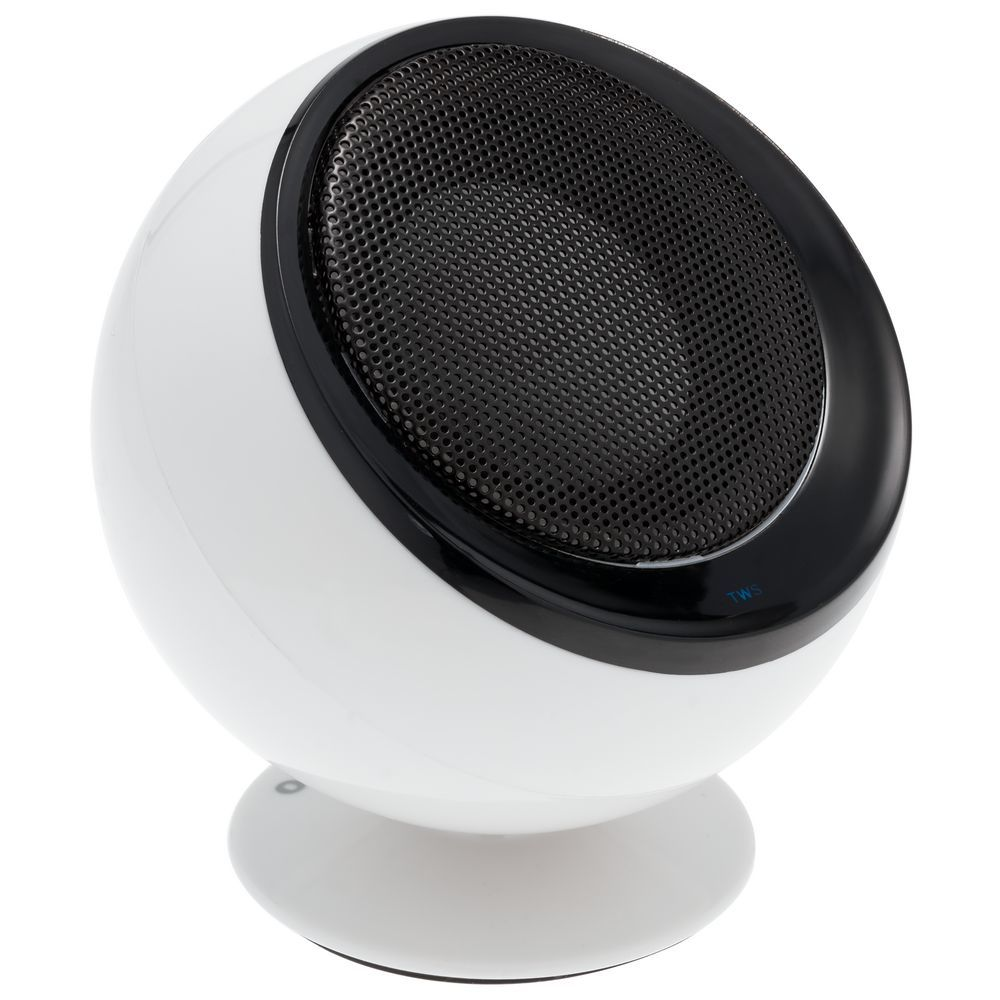 TwinSonance Bluetooth Stereo Speakers, white