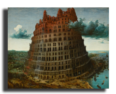 """Репродукция """"Питер Брейгель - Башня Вавилона"""""""