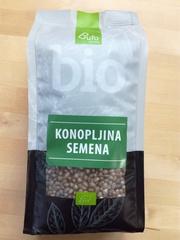 Семена конопли Bufo Organic БИО 500г (Словения)