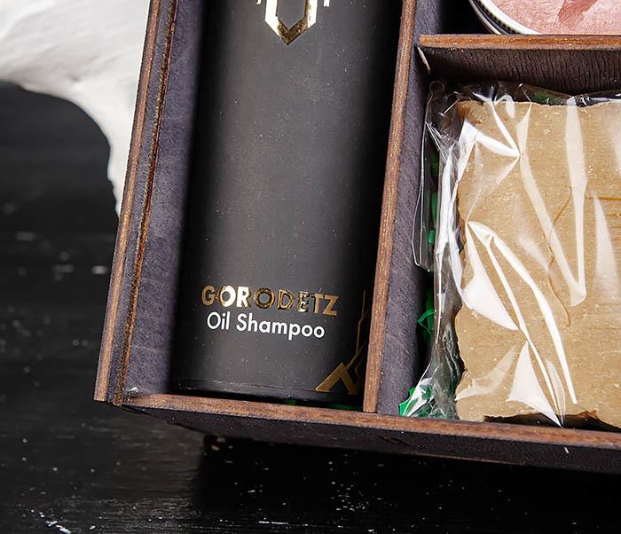 Мужской набор из шампуня, мыла для тела и средства для укладки фото 04