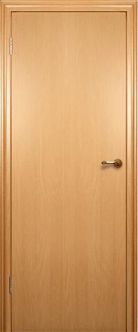 Дверь Краснодеревщик ДГ 200, цвет бук, глухая
