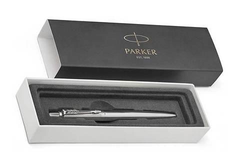 Parker Jotter Premium - Stainless Steel Diagonal CT, шариковая ручка, M