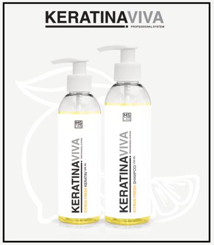 KERATIN VIVA Shampoo - Шампунь Кератин Цитрус