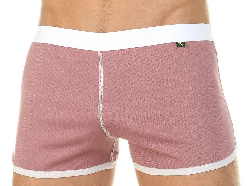 Мужские шорты домашние розовые Van Baam 39840