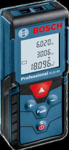 Лазерный дальномер BOSCH GLM 40 Professional