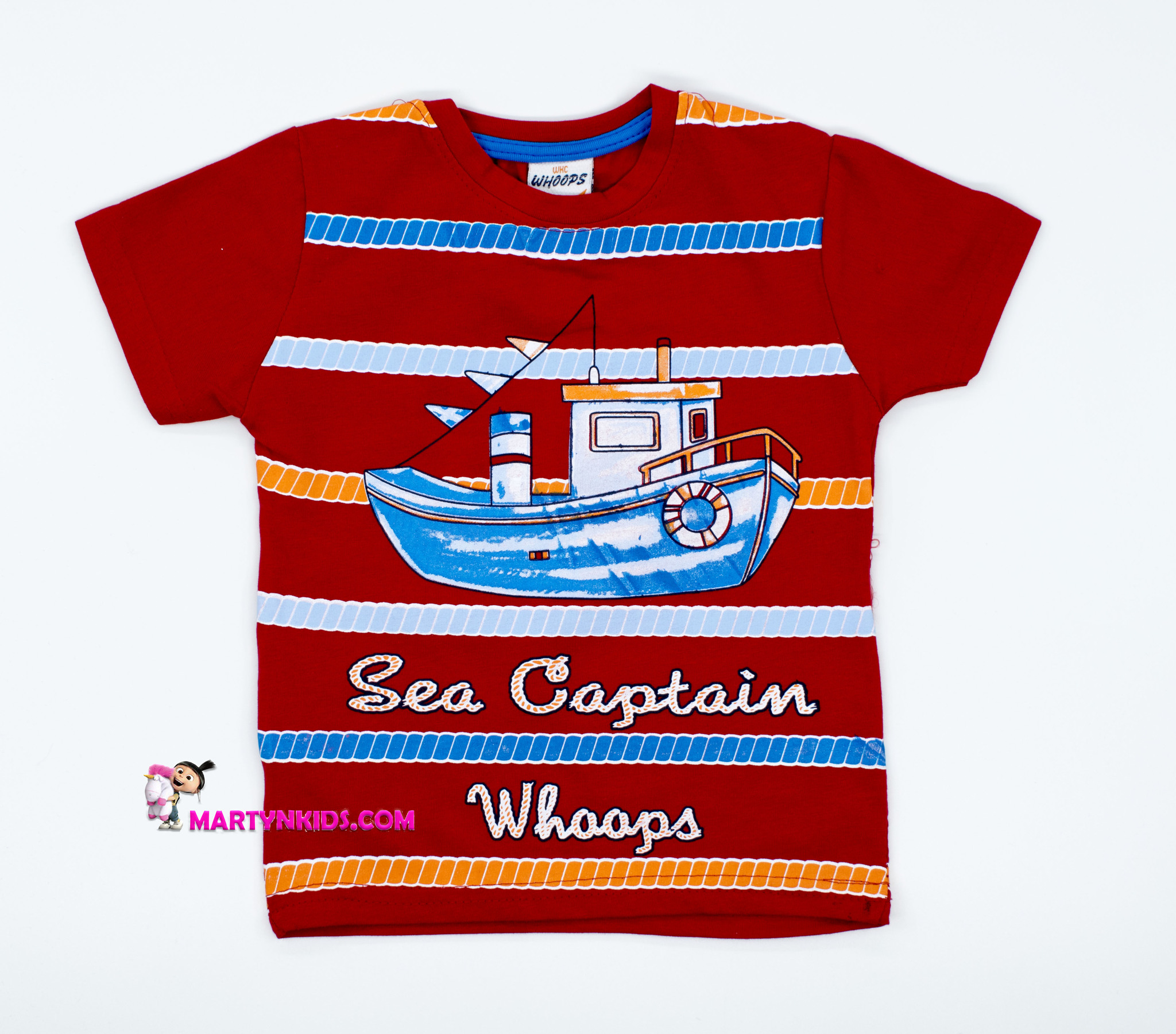 2603  футболка Капитан- кораблик