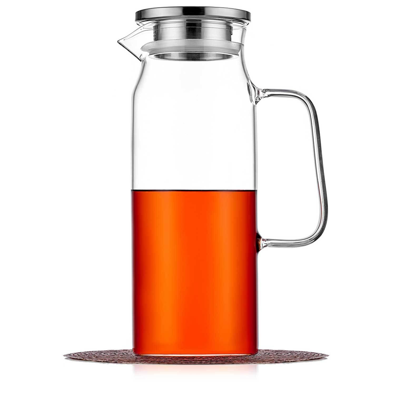 Чайники заварочные стеклянные Кувшин с фильтром в крышке 1,5 л стеклянный для воды, сока и других напитков kuvshin-steklo-4-011-1500-teastar.jpg