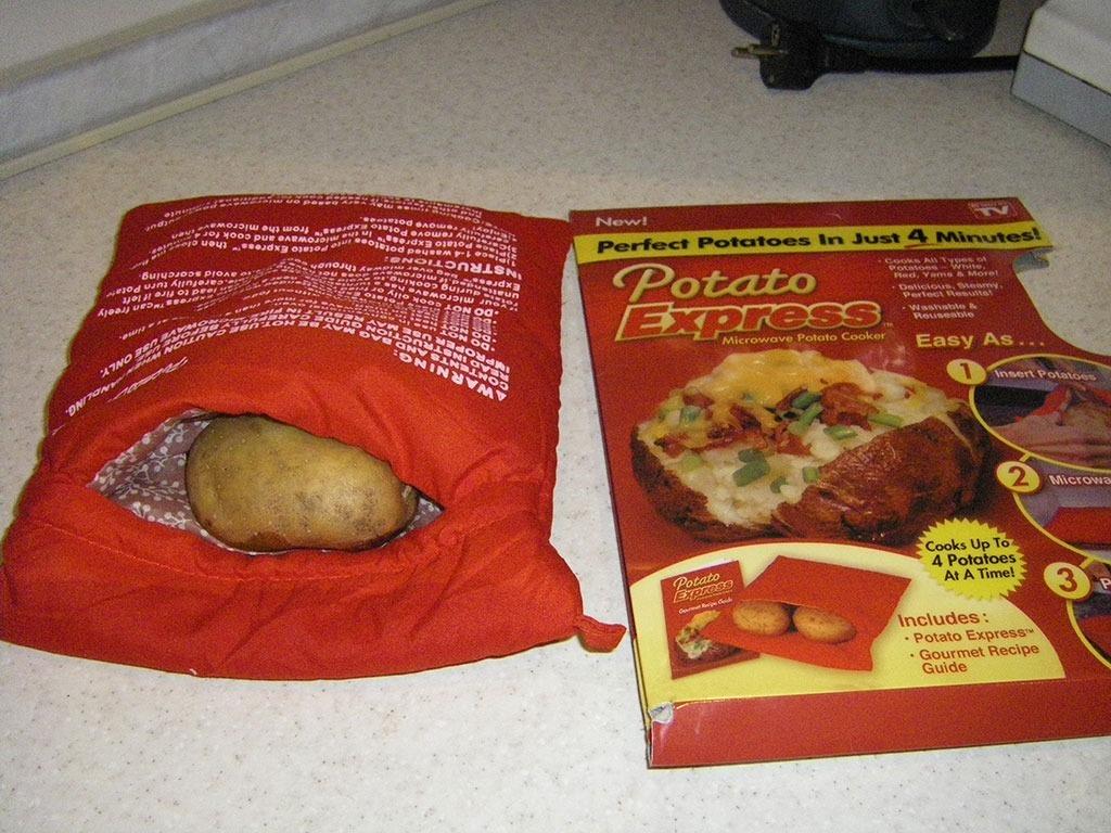 Мешочек Potato Express для запекания в микроволновке