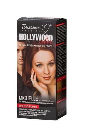Белита-М Hollywood Color Крем-краска 397 Michelle (Махагоново-светло-коричневый)