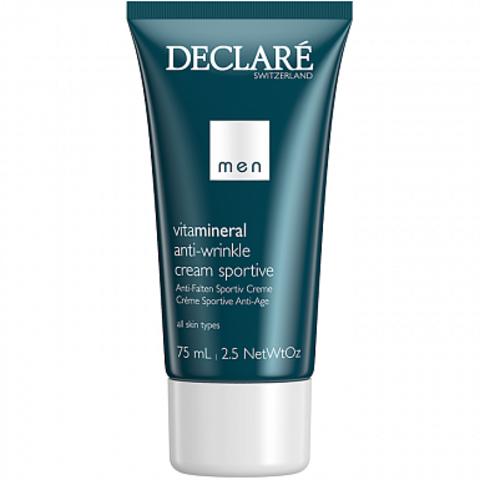 Омолаживающий крем для активных мужчин Anti-Wrinkle Cream Sportive, Declare, 75 мл