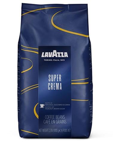 Кофе в зернах Lavazza Espresso Super Crema, 1 кг