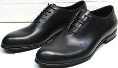 Мужские черные туфли для костюма Ikoc 063-1 ClassicBlack