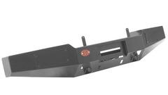 Передний силовой бампер OJ без дуг (под лифт) , кронштейны под ПТФ.