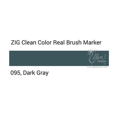 Маркер акварельный ZIG Clean Color Real Brush- штучно - 095