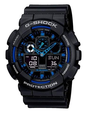 Часы мужские Casio GA-100-1A2ER G-Shock