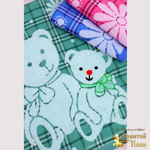 Полотенце комбинированное махра/хлопок (50х95) 191220-PL802
