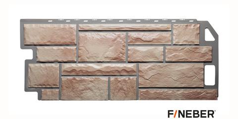 Фасадная панель Fineber Камень терракотовый 1137х470 мм