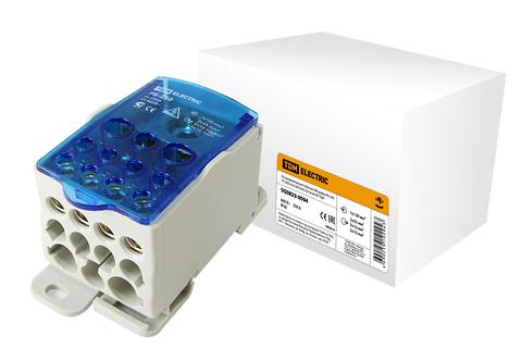 Распределительный блок на DIN-рейку РБ-250 1П 250А (1х120/2x35+5x16+4x10) TDM
