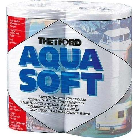 Бумага Thetford Aqua Soft 4шт.