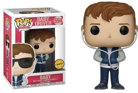 Baby Driver Chase Funko Pop! Vinyl Figure    Малыш на драйве без очков