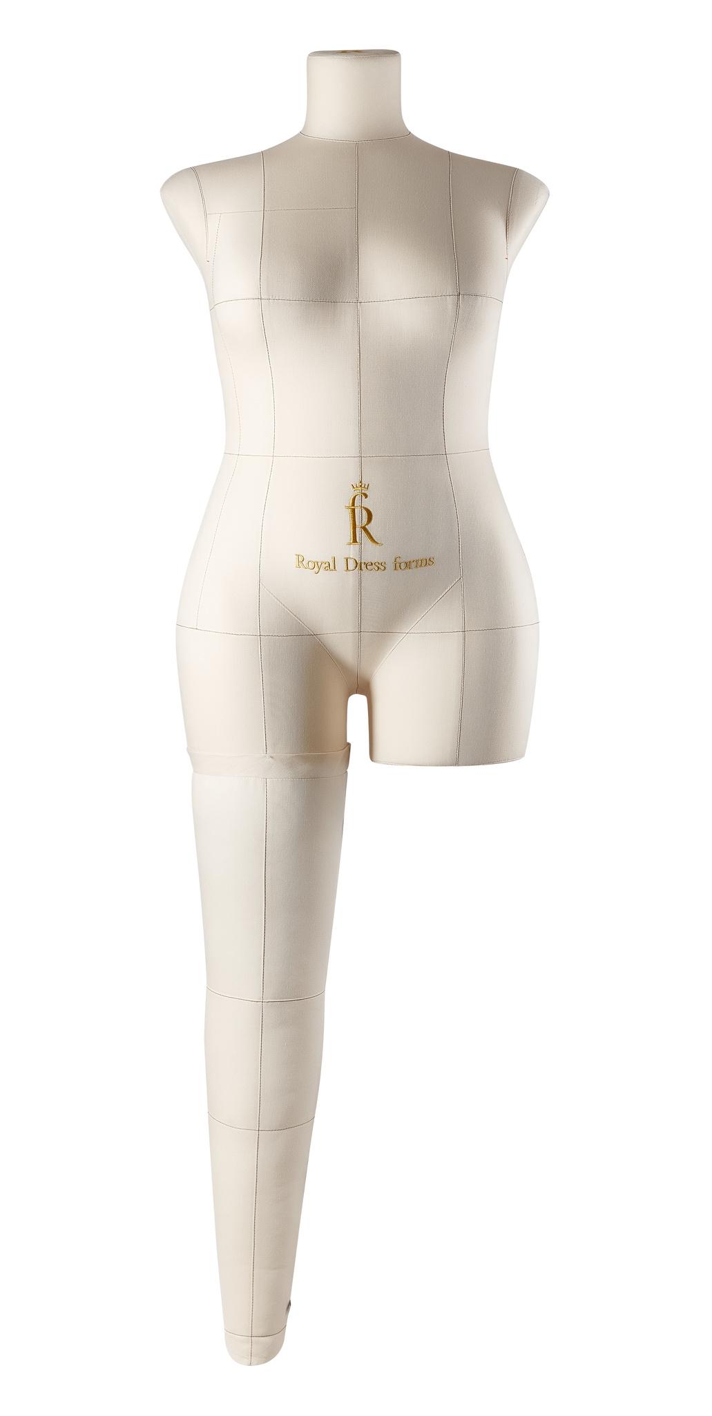 Нога бежевая для манекена Моника, 50 размер