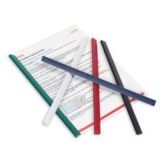 Скрепкошина для брошюровки Durable для А4 до 60 листов черная