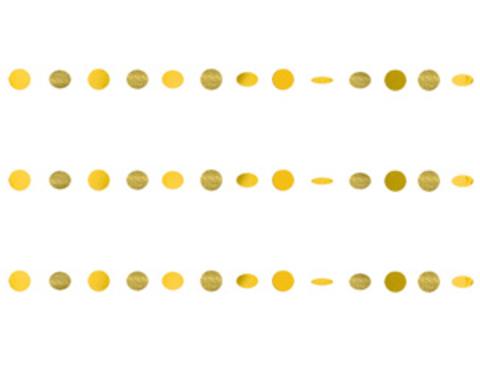 Гирлянда Круги Yellow