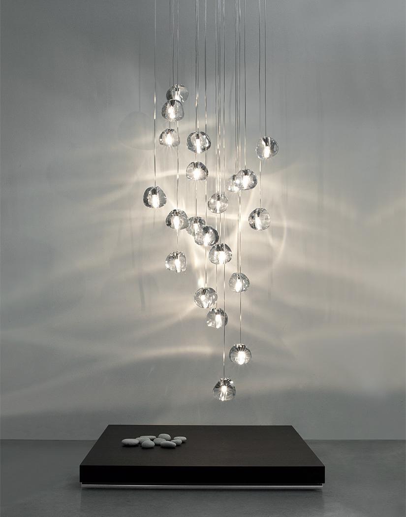Подвесной светильник копия  Mizu by Terzani (36 подвесов)